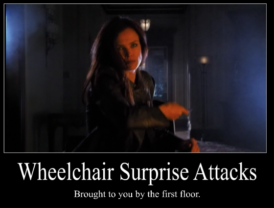 Wheelchair Surprise Attacks